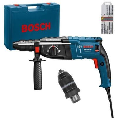 Снимка на Перфоратор BOSCH GBH 2-24 DF Professional+ 5 свредла за бетон в куфар