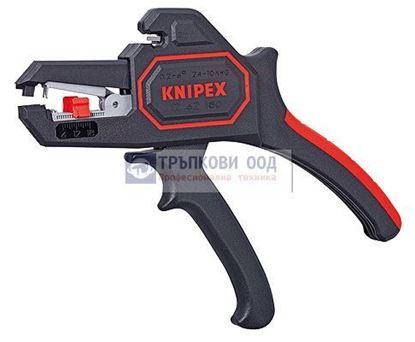 Снимка на Клещи самонастройващи зачистващи KNIPEX 180