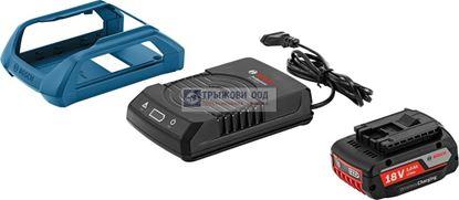 Снимка на  Акумулаторен комплект Bosch Стартов комплект GBA 18 V 2,0 Ah MW-B + GAL 1830 W, зареждане без кабел Professional