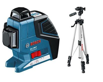Снимка на Линеен лазер GLL 3-80 P Professional+ Статив BS 150