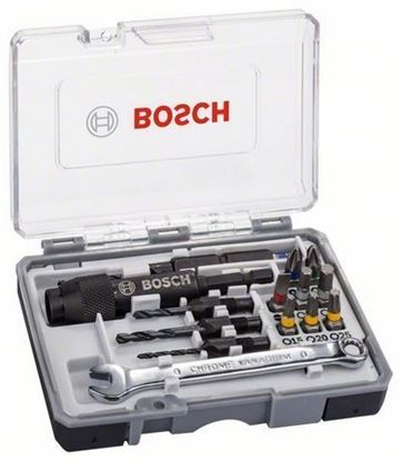 Снимка на Комплект битове Drill and drive set, 20 pcs