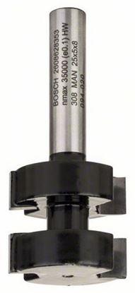 Снимка на Фрезер за сглобки;8 mm, D1 25 mm, L 5 mm, G 58 mm;2608628353