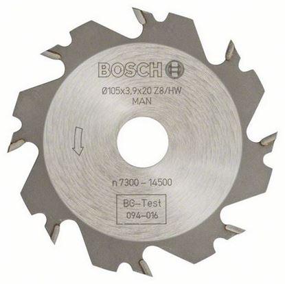 Снимка на Дисков фрезер;8 зъба,отвор 20 mm,широчина 4 mm;3608641008