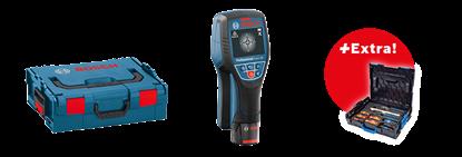 Снимка на Детектор Скенер за стени D-tect 120 Professional+ 1. Akku 1,5Ah+ Бонус комплект Gedore