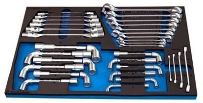 Снимка на 964/49 SOS - К-т инструменти в SOS подложка 13 броя