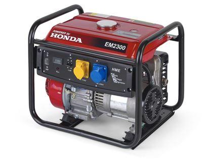 Снимка на Монофазен бензинов генератор EM 2300