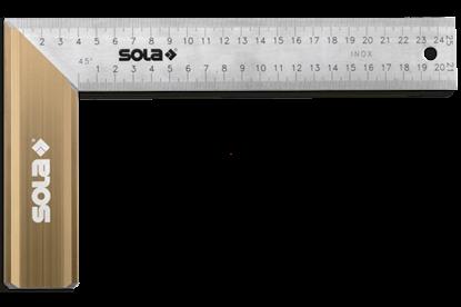 Снимка на Ъгъл ;SRB 200;56012001;неръждаема стомана,200x145mm