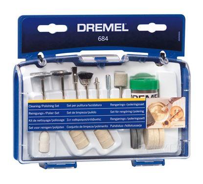 Снимка на  Комплект за почистване / полиране Dremel;26150684JA