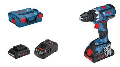 Снимка на Акумулаторен винтоверт GSR 18V-60 C Professional,2× 4.0 Ah ProCore батерии+AL 1880 CV зарядно+L-BOXX 136