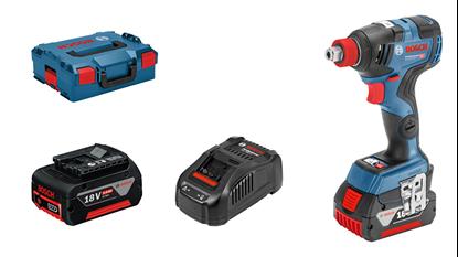Снимка на НОВО!Акумулаторен ударен гайковерт GDX 18V-200 C Professional,2× 5.0 Ah батерии+GAL 1880 зарядно+L-BOXX 136