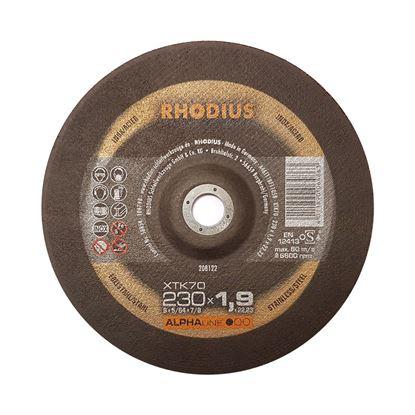 Снимка на Карбофлексов диск RHODIUS XTK70 230x1.9x22.23мм;208122