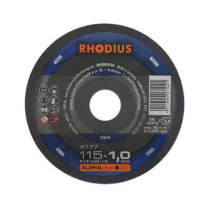 Снимка на Карбофлексов диск Rhodius XT77 115x1.0x22.23мм;208698