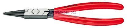 Снимка на Клещи зегер затварящи,прави KNIPEX 180;4411J2