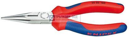 Снимка на Клещи с издължени челюсти и режещ ръб KNIPEX 160;2502160
