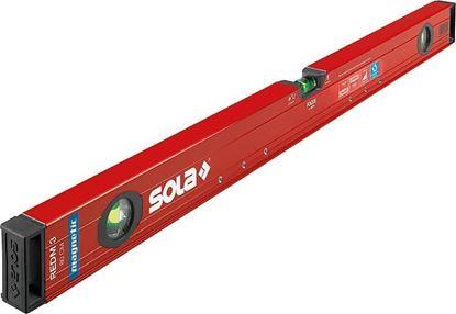 Снимка на Алуминиев магнитен нивелир SOLA RedM 3 80,80cm,1813101