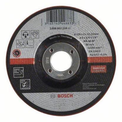 Снимка на Диск за рязане и шлайфане, WA 46 BF, 125 mm, 22,23 mm, 3,0 mm,2608602218