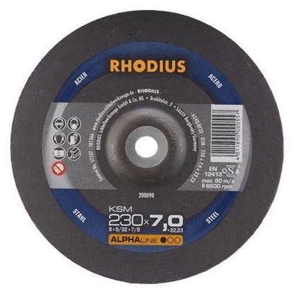 Снимка на Диск за шмиргелене на метал 230х7,0х22,23 KSM;200090