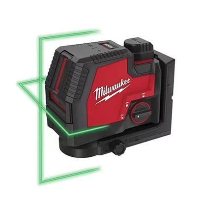 Снимка на Лазерен нивелир 3.0Ah Milwaukee L4CLL-301C CROSSLASER USB зарядно,4933478098